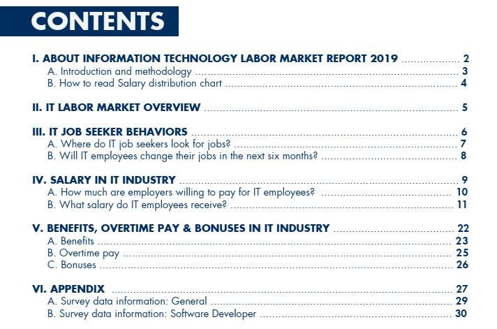 Information Technology Labor Market Report 2019