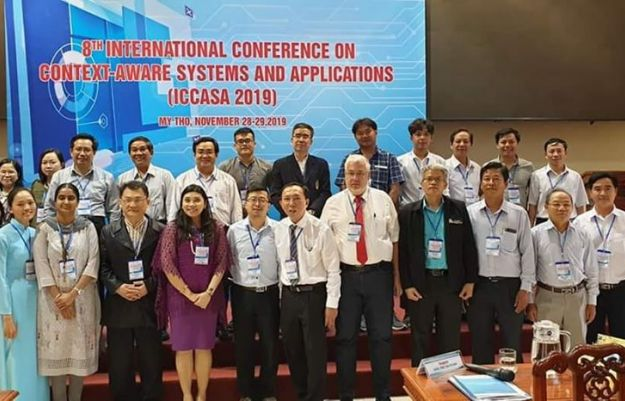 ICCASA 2019 - 8th EAI International Conference on Context-Aware Systems and Applications